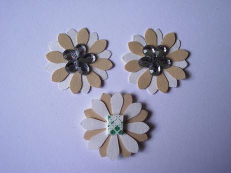 3D kvetinky ,