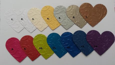 Embosovaný papier - lesklý (hand made),
