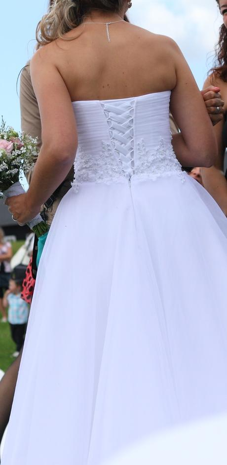 Svatební šaty 36/38, 36