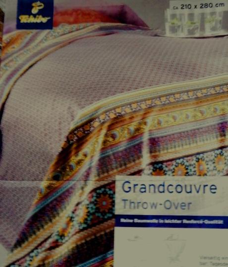 Bavlněný přehoz na postel TCM,