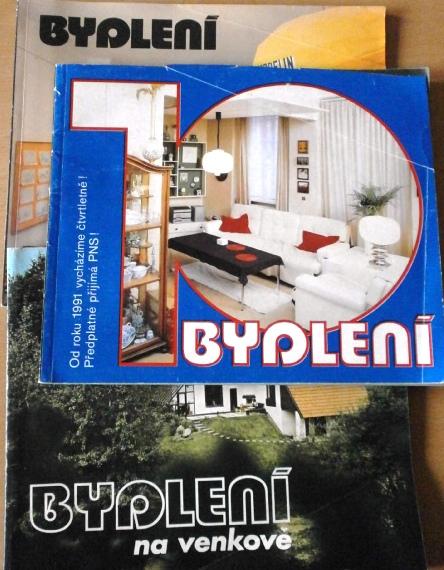 Časopisy o bydlení,