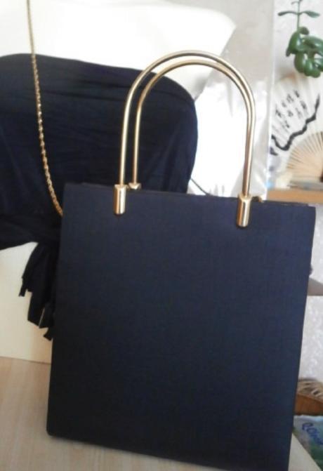 Černá společenská kabelka,