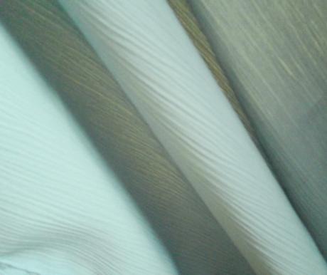 Látka polyesterový krep,