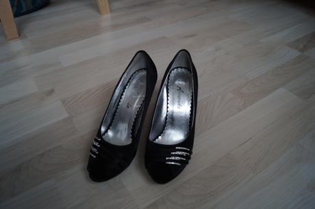 Topánky so štrasovými kamienkami, 36