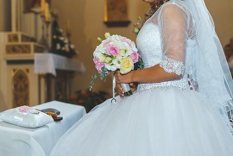 Princeznovské snehovo biele šaty+ ZDARMA popolnock, 36