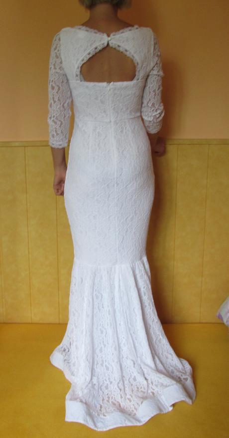 Svatební šaty vel.36/38, 38