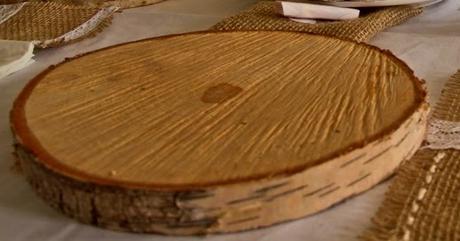 Březové dřevěné koláče/podnosy,