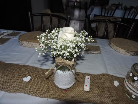 Kompletní výzdoba na svatbu, přírodní styl,