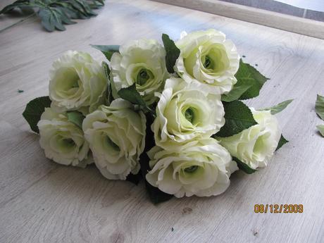 bílé růže ,