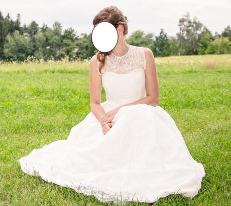 krajkové svatební šaty ivory 42, 40,, 38