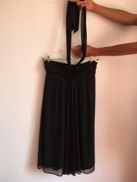 Čierne ľahučké šaty, zn. Camaieu, M
