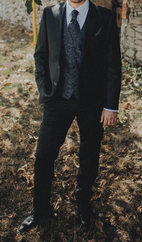 Svadobná vesta značky Digel - model Lambert, 50