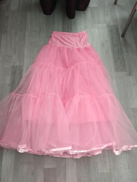 dlouhá spodnička růžová , 38