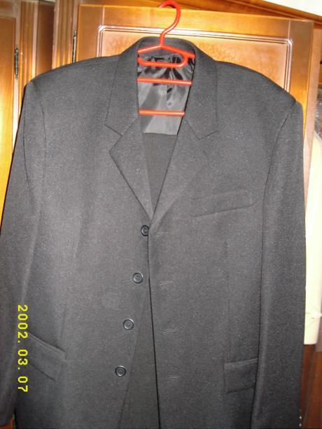 cierny pansky oblek Schneider, 52
