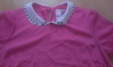 Letna bluzka s golierikom, XL