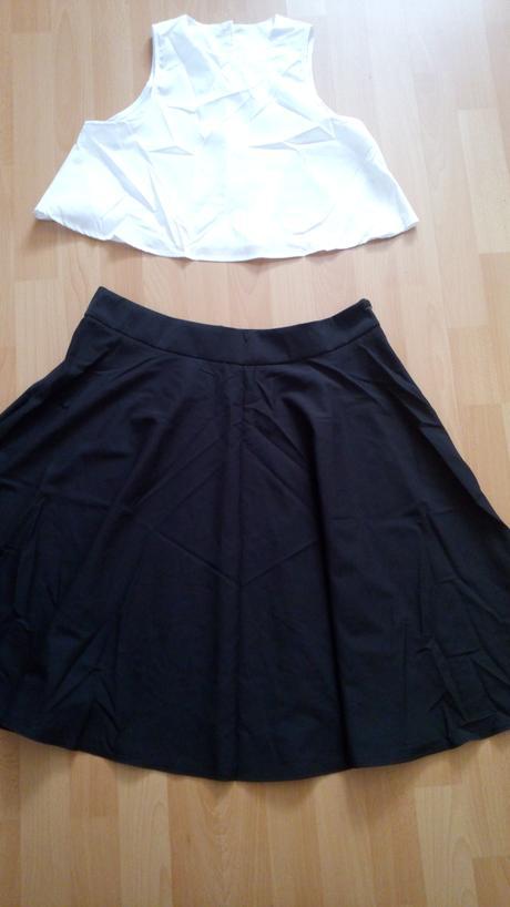 Sukňa a crop top, XL