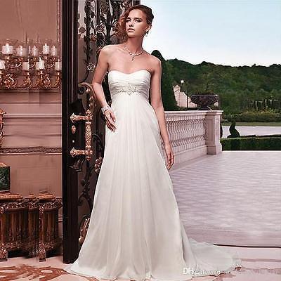 antické bílé jednoduché svatební šaty Julianna XS, 36