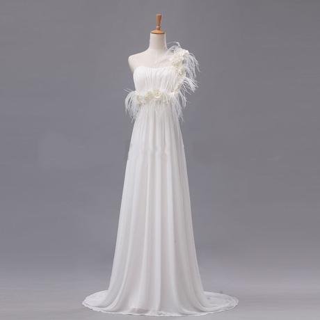 antické smetanové svatební šaty Elena , 36