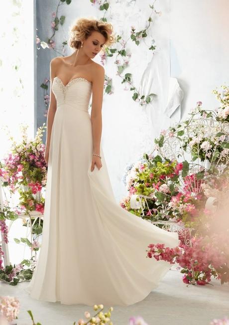 antické svatební šaty krémové Caroline S-M, 36