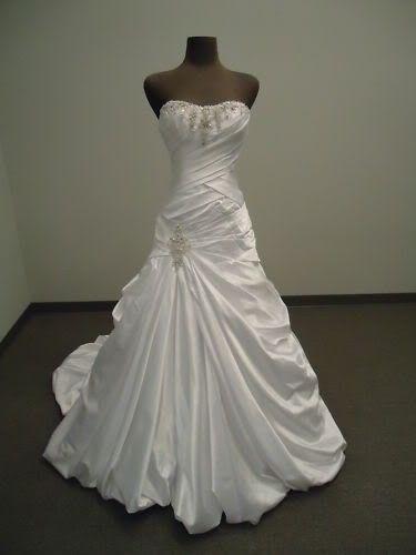 bílé svatební šaty klasické Rozaria M-L, 38