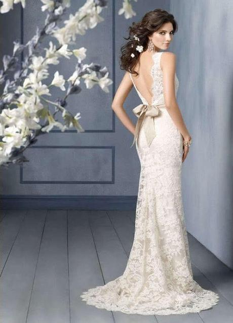 krajkové ivory svatební šaty Rosabella S, 36