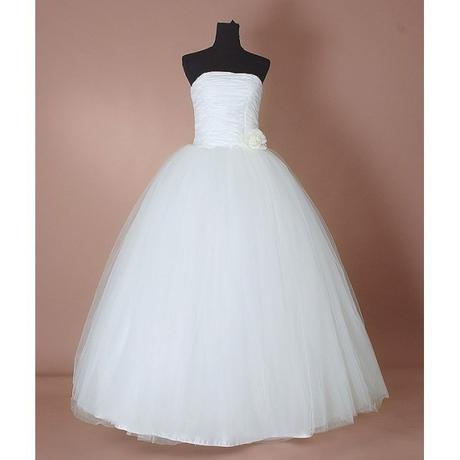 krémové tylové svatební šaty Derry L, 40
