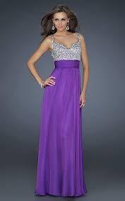 luxusní fialové společenské plesové šaty Bella XS, 34
