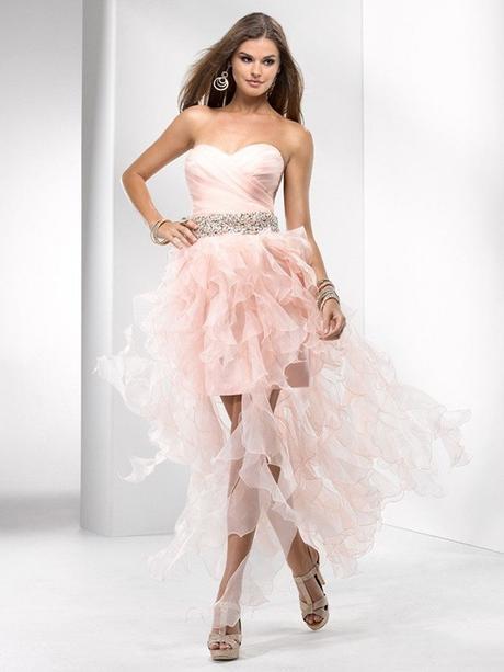 luxusní polodlouhé společenské meruňkové šaty XS-S, 34