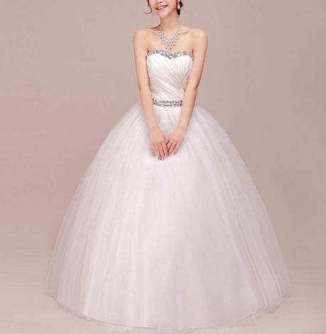 luxusní tylové svatební šaty s bohatou sukní Alexa, 40
