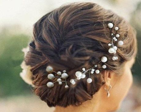 překrásné svatební perličkové pinetky do účesu,
