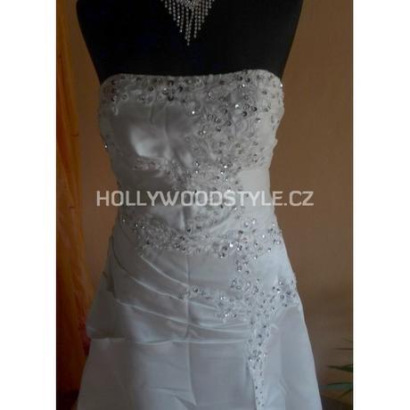 saténové ivory svatební šaty L-XXL, 40