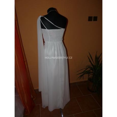 Sofia bílé společenské svatební šaty M-XL, 38