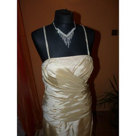svatební šaty Champagne XL, 42
