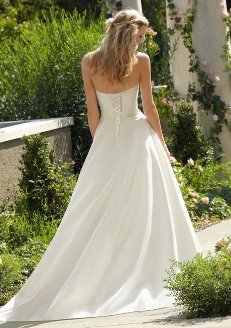 svatební šaty krémové Wanda L-XL, 40