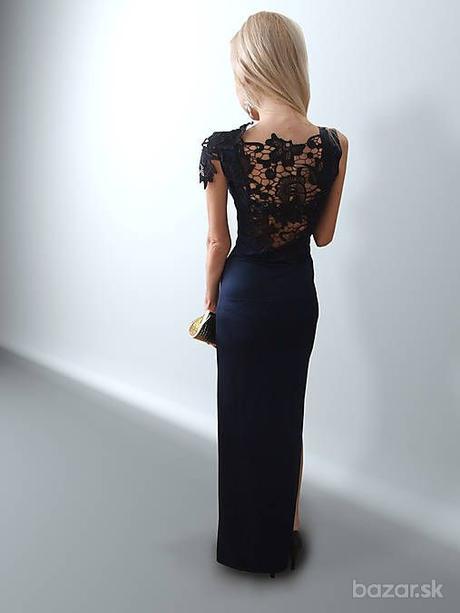 Spoločenské šaty s čipkou, 34