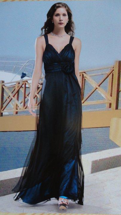 Šifónové spoločenské šaty - XL, 44