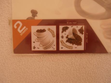 Nálepky na stenu Káva,