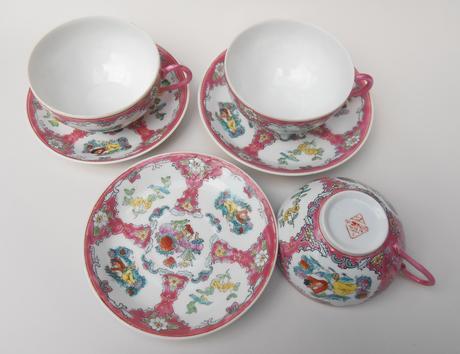 Šálky na čaj 3 ks,