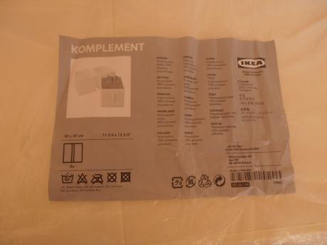 Úložný diel Komplement Ikea,