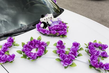 Dekoracia na auto,