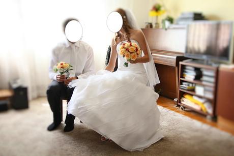 Svatební šaty značky Jasmine 36,37, 36