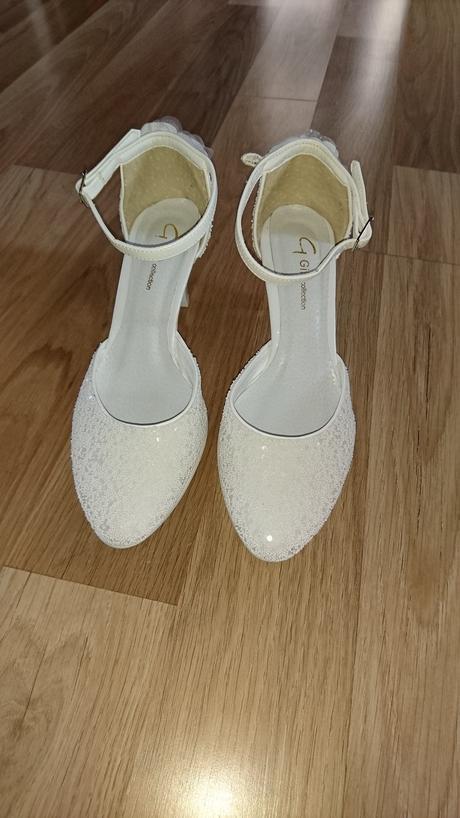 Svadobne sandalky - velkost, 37