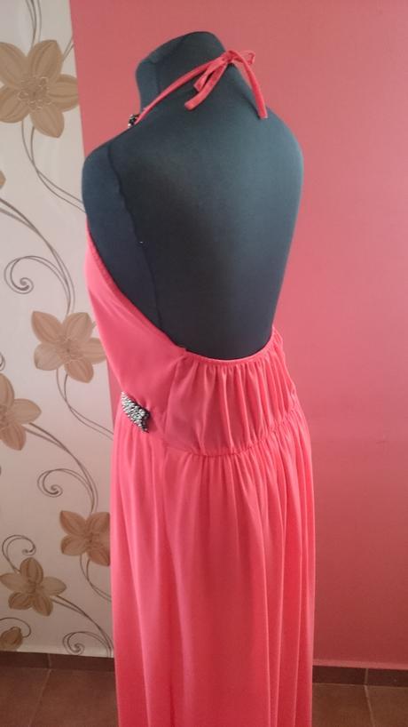 Dlhé šifónové šaty, 38