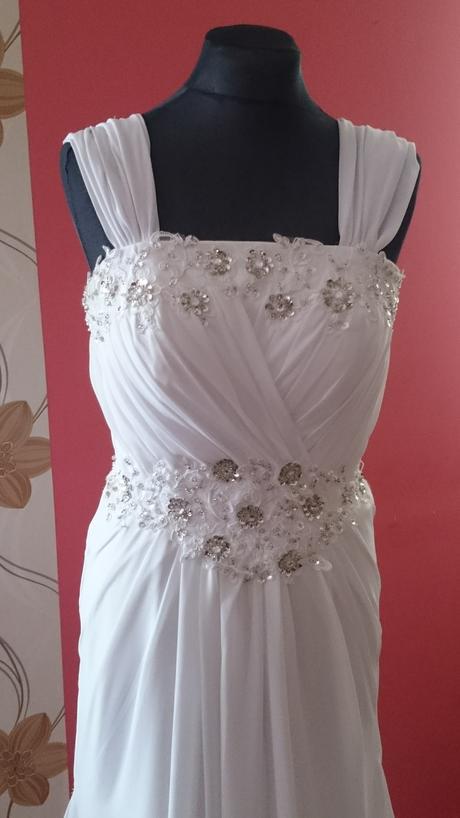 """Svadobné šaty """"grécky"""" štýl, 36"""