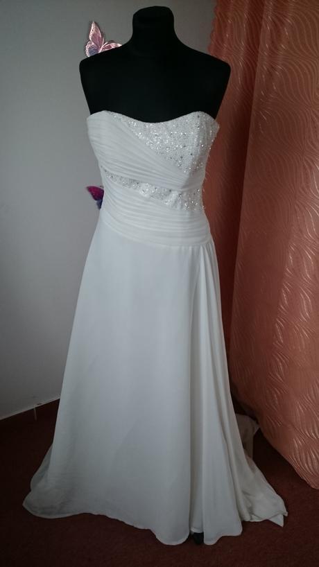 """Svadobné šaty """"grécky"""" štýl, 38"""