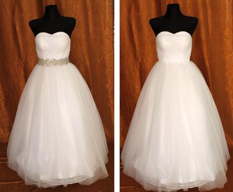 Tylové svadobné šaty, 34