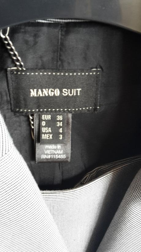 Kostym Mango trojkombinacia, 36