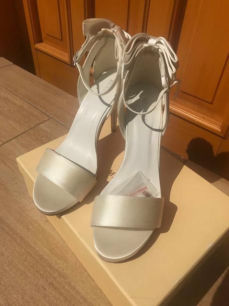 Svadobné sandále Menbur , 39