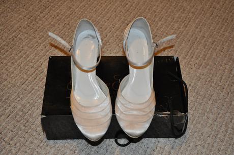 Svatební boty Cindrella - vel.39, 7cm podpatek, 39