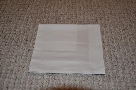 Textilní ubrousky - bílé,